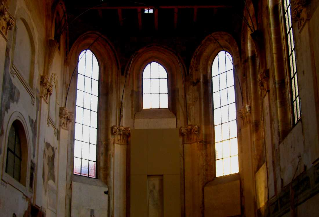 Interior of St Anne's Church
