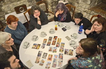 Tarot reading with The Tarot of Prague