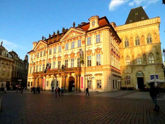 Kinský Palace in Old Town Square
