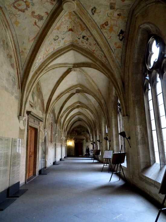 The cloister in Emauzy