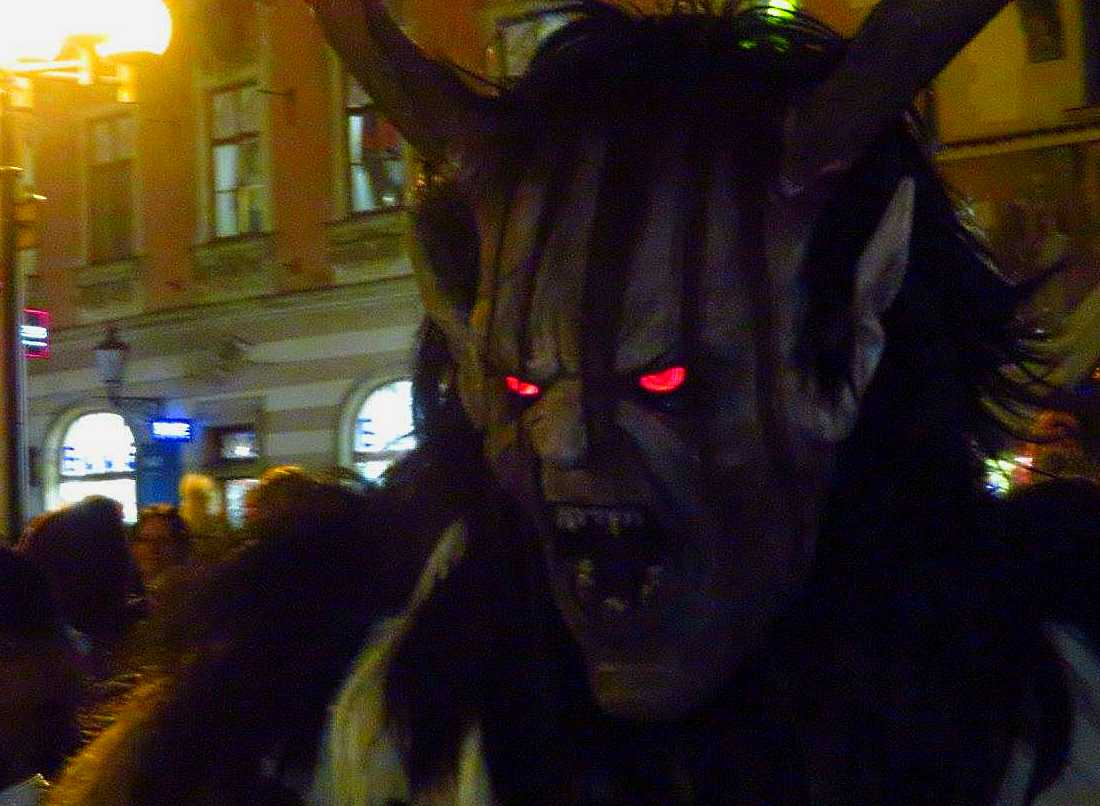 Krampus in Prague